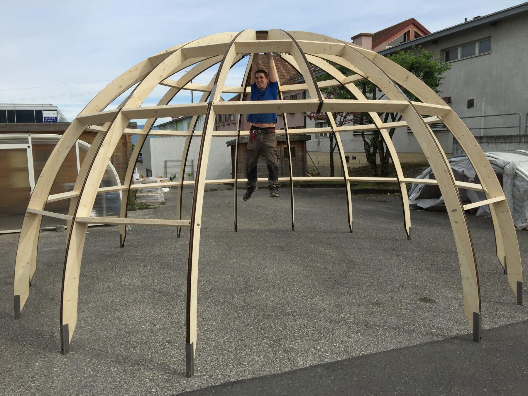 Structure de l'igloo