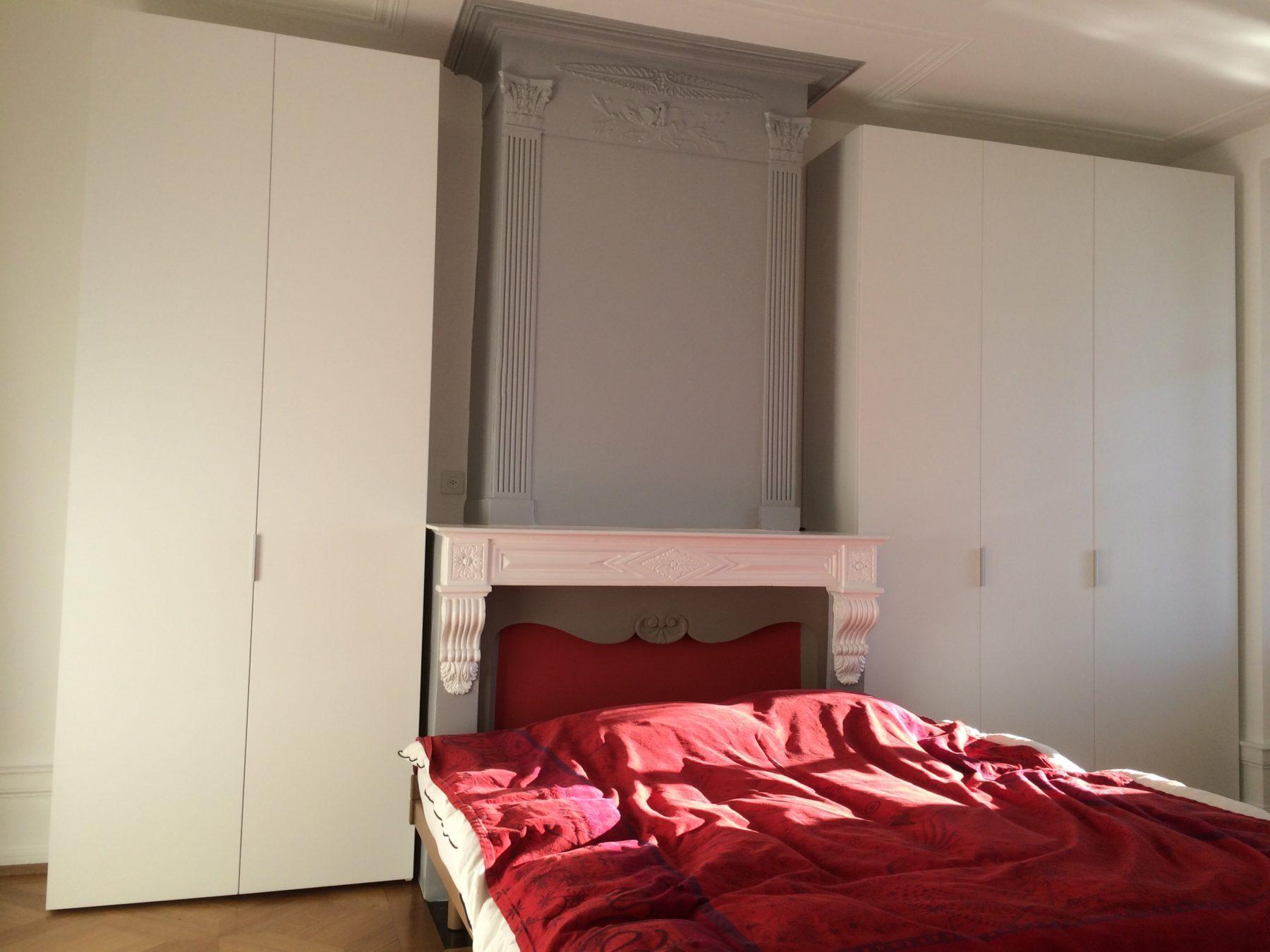 Agencement d 39 une chambre coucher ap design - Agencement chambre a coucher ...