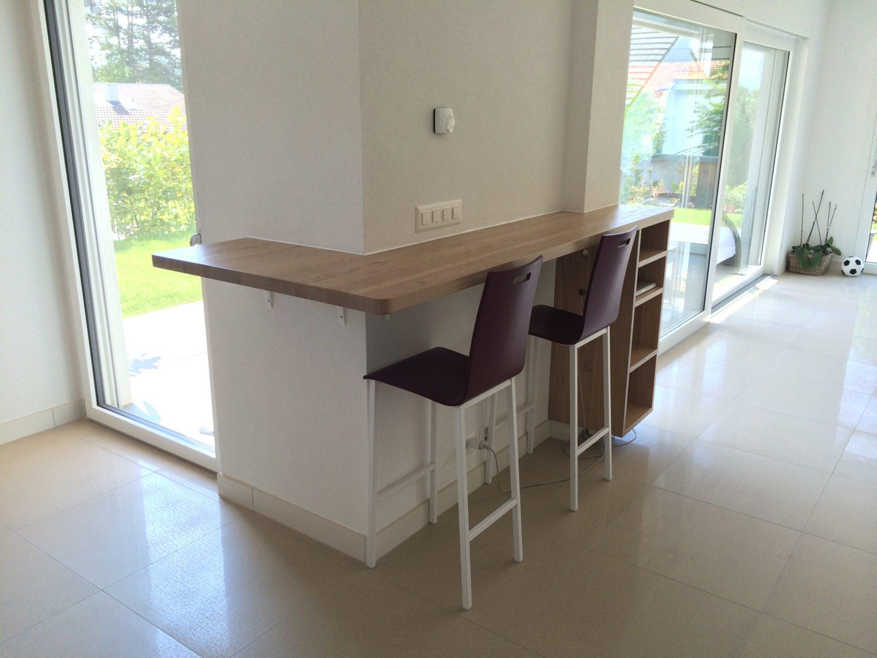 Table Haute Avec Rangement bar d'angle avec meuble de rangement - ap design